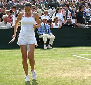 2006 Wimbledon Championships - Jelena Janković knocked Venus Williams out of Wimbledon in the third round.