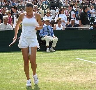 2006 Wimbledon Championships - Jelena Janković knocked Venus Williams out of Wimbledon in the third round.