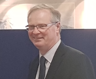 Stafford (UK Parliament constituency) - Stafford MP Jeremy Lefroy in 2018