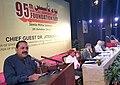 Jitendra Singh addressing at the 95th Foundation Day function of the Jamia Milia Islamia University, in New Delhi. The Vice Chancellor, Jamia Milia Islamia University, Prof. Talat Ahmad is also seen.jpg