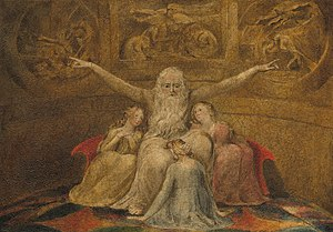 Keziah - Job with his three daughters William Blake, 1805