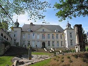 Jodoigne - Château Pastur, a former residence of Henry I of Brabant, now the hôtel de ville of Jodoigne