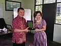 Johan Yan bersama Eka Sari Lorena-Presiden Direktur Eka Sari Lorena Transport.jpg