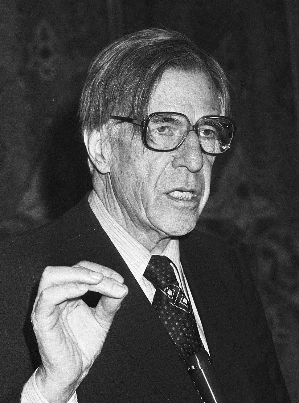 John Kenneth Galbraith 1982