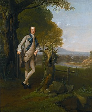 Best-Shaw baronets - John Shaw, 4th Bt (1728-1799), of Eltham Lodge (Arthur Devis, 1757)