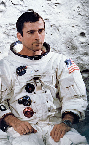 John Young (astronaut) - Young in an Apollo 10 crew portrait