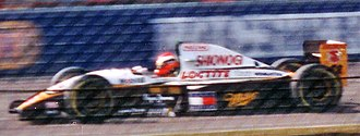 Johnny Herbert - Herbert driving for Lotus at the 1994 British Grand Prix. He finished eleventh.