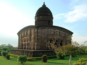 Bankura district - Jor Mandir complex (c. 1726), Bishnupur