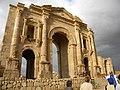 Jordan, Jerash (The Arch of Hadrian)- (detail 2).jpg