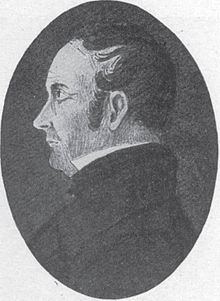 Drawing of Joseph Fielding