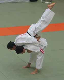 Jū no kata being performed in competition.