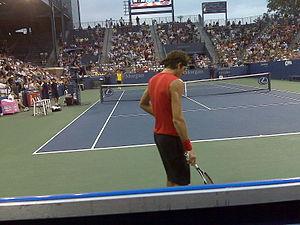 Juan Martin del Potro at US Open 2008