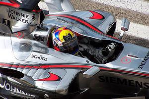 Juan Pablo Montoya 2006 test 2