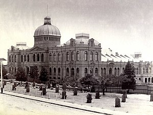 Jubilee Exhibition Building - Image: Jubilee Exhibition Building 1885