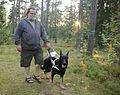 Juha Herttuainen ja koira nro. 233.jpg