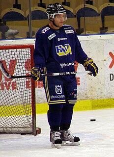 Jukka Voutilainen Finnish ice hockey player