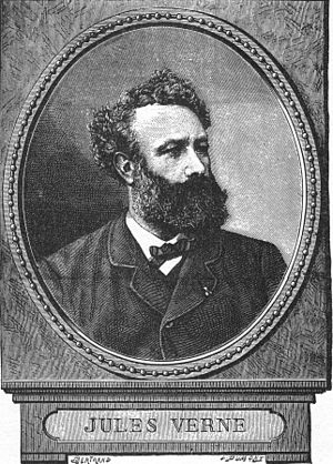 English: Jules Verne, contemporary portrait.