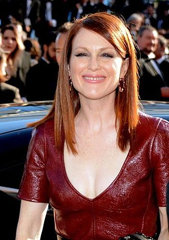 Maps to the Stars - Julianne Moore promoting the film at the Cannes Film Festival.