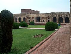 July 9 2005 - The Lahore Fort-Sleeping chambers of Shahjahan.jpg