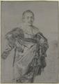 Junger stehender Mann mit Mantel und glatter Halskrause, Kniestück (SM 811z).png