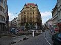 Jungmannova 9, Vodičkova 2, rekonstrukce tramvajové trati.jpg