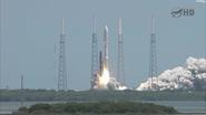 Juno launch NASA TV 1
