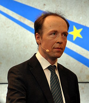 Finns Party - Dr. Jussi Halla-aho, chairman elected in 2017.