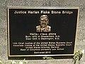 Justice Harlan Fiske Stone Bridge plaque.jpg