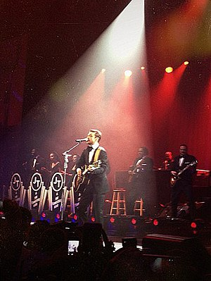 Suit & Tie - Timberlake performing the song at DirecTV Super Night in New Orleans on February 2, 2013.