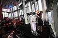 Justine Greening, Former International Development Secretary, speaking at the Global Citizen -SheWill event in the Shard, London, 7 July 2016.jpg