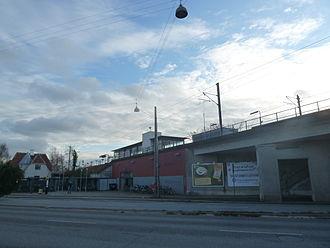 Jyllingevej station - Image: Jyllingevej Station 14