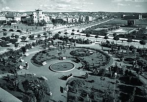 Güvenpark - Kızılay Square and Güvenpark (right) in the 1940s.