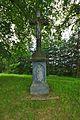 Kříž za obcí u silnice na Kozov, Vranová Lhota, okres Svitavy.jpg