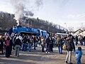 Křivoklát expres, Albatros a dav v Braníku.jpg