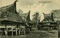 KITLV - 1400320 - Kleingrothe, C.J. - Medan - Karo Batak houses in a village on the east coast of Sumatra - circa 1900.tif