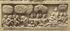 KITLV 40093 - Kassian Céphas - Relief of the hidden base of Borobudur - 1890-1891.jpg