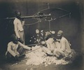 KITLV 87151 - Johnson and Henderson - Men engaged in spinning cotton, presumably at Bombay, British India - 1856.tif