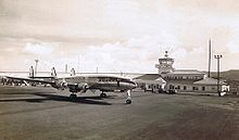 KLM L-1049C Constellation at Santa Maria (Azores).jpg