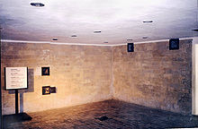"The ""Shower"" (Gas Chamber)"
