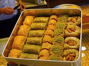 Baklava - Several types of Baklava