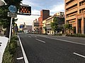 Kagoshima Prefectural Road No.214 near Toshima Village Office.jpg