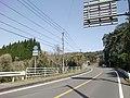 Kagoshima prefectural road 40 at Ariyada-cho, Kagoshima.JPG