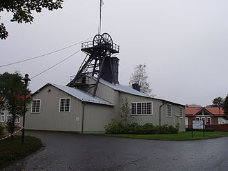 Mining in the Upper Harz - The headframe of the Emperor William Shaft in Clausthal is one of the oldest surviving winding towers in Germany