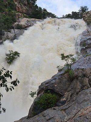 Kalyan Revu Water Falls - Image: Kalyan Revu