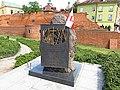 Kamień pamięci oficerów Wojska Polskiego - panoramio.jpg