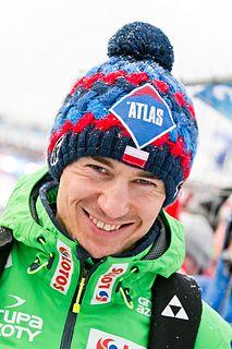 Kamil Stoch Polish ski jumper