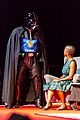 "Karen Lord and ""Darth Finn"" at the Hugo Award Ceremony at Worldcon 75 in Helsinki.jpg"