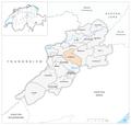 Karte Gemeinde Le Bémont 2007.png