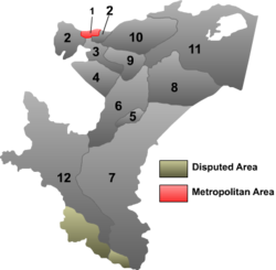 Location (reid) within Kashgar Prefectur