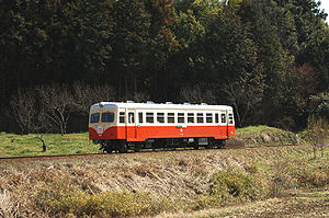 Jōban Line - Kashima Sangu Railway train